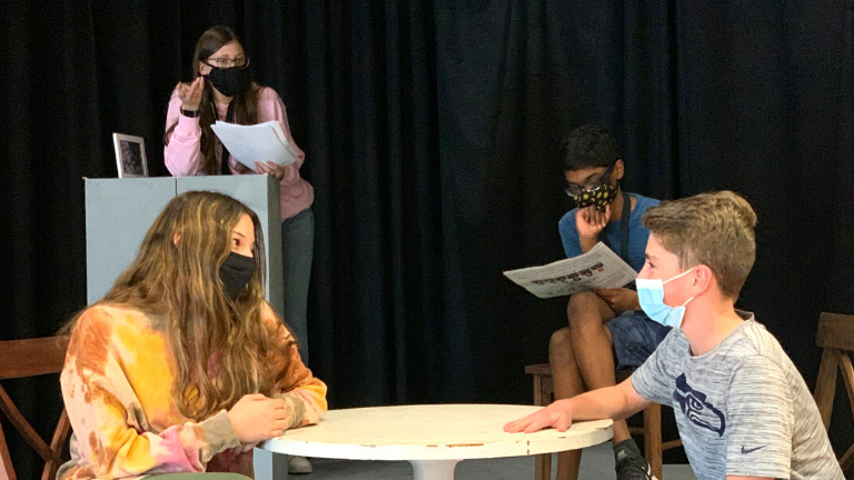 Shadow Ridge Middle School Theater Performs
