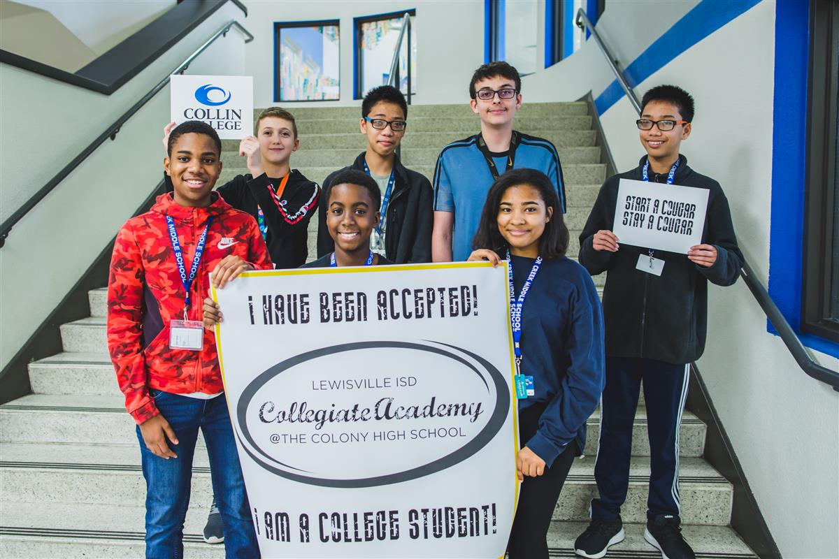 ACMS students accepted into the LISD Collegiate Academy