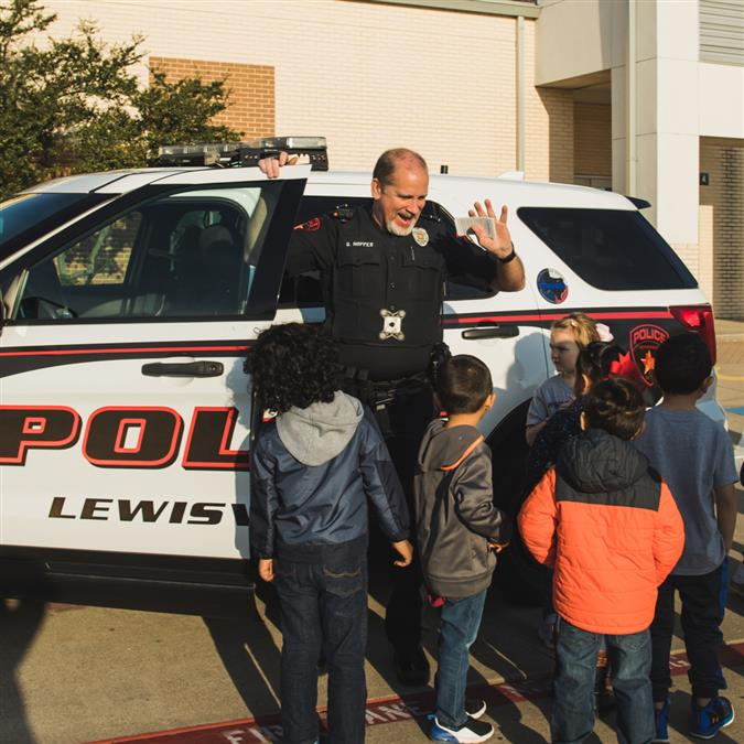 PHOTOS: Careers on Wheels at Central Elementary