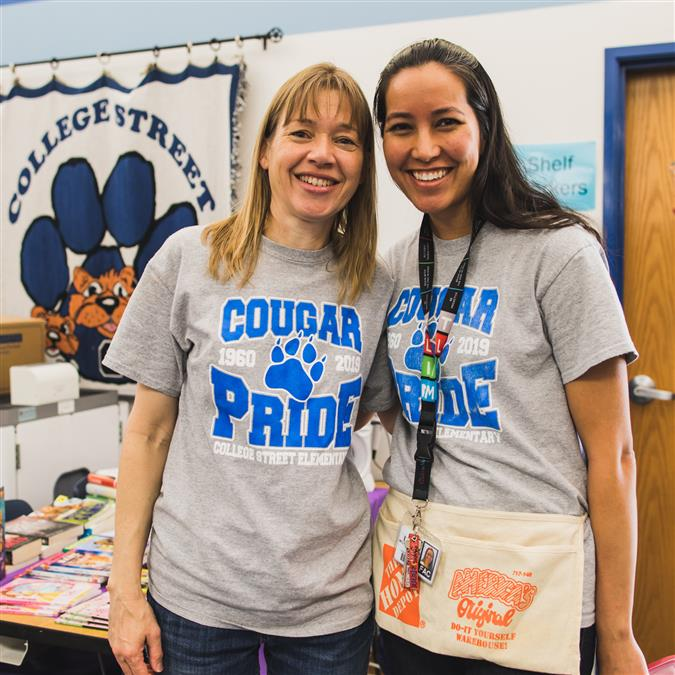 College Street Elementary Hosts 'Farewell' Event