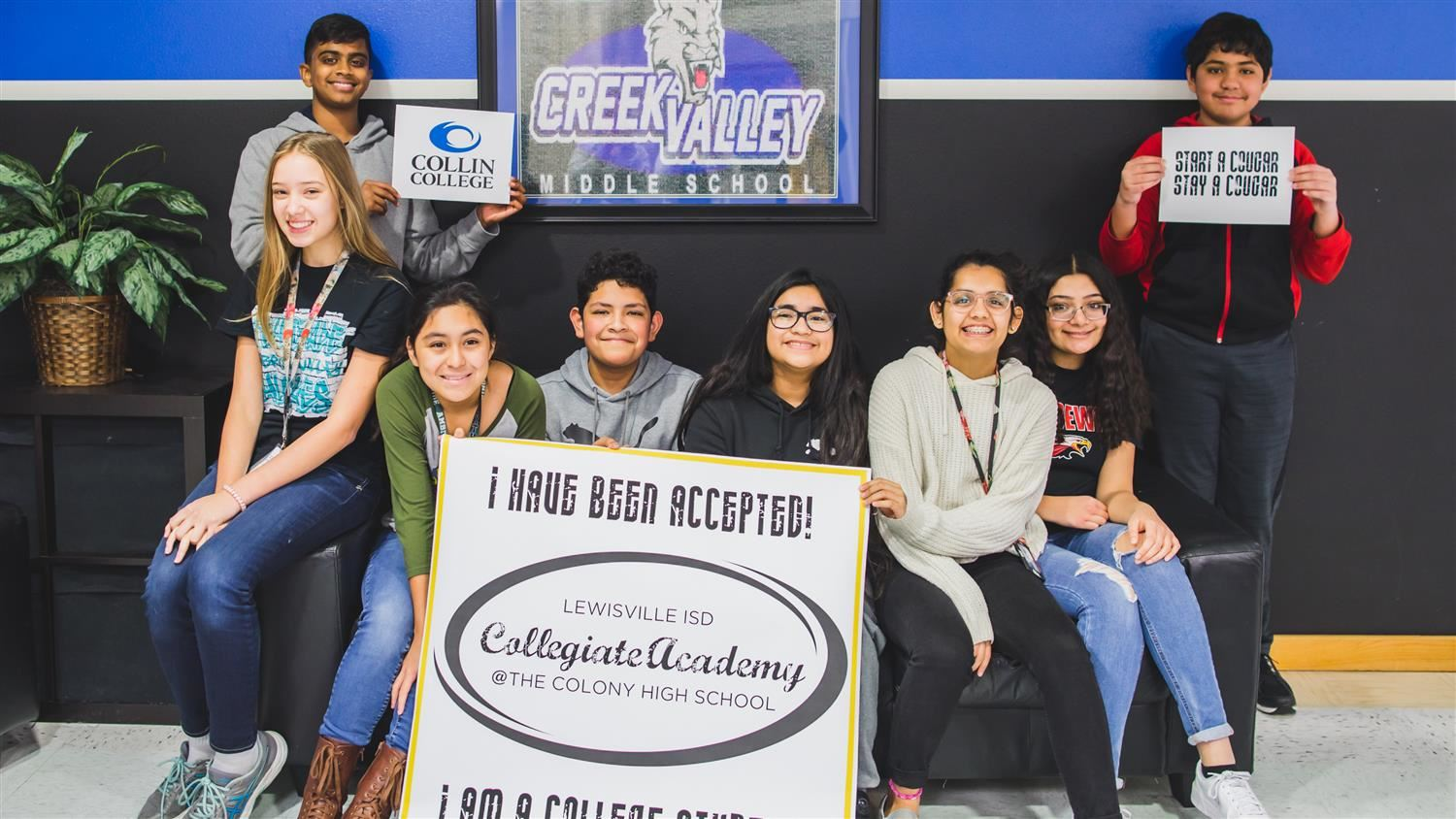 Creek Valley Students Surprised with Exciting News