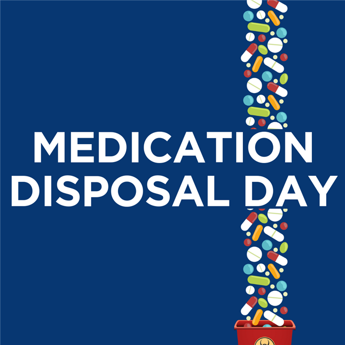 Medication Disposal Day | Oct. 27