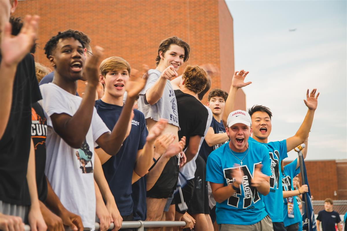 Fans at the 2019 FMHS Homecoming game