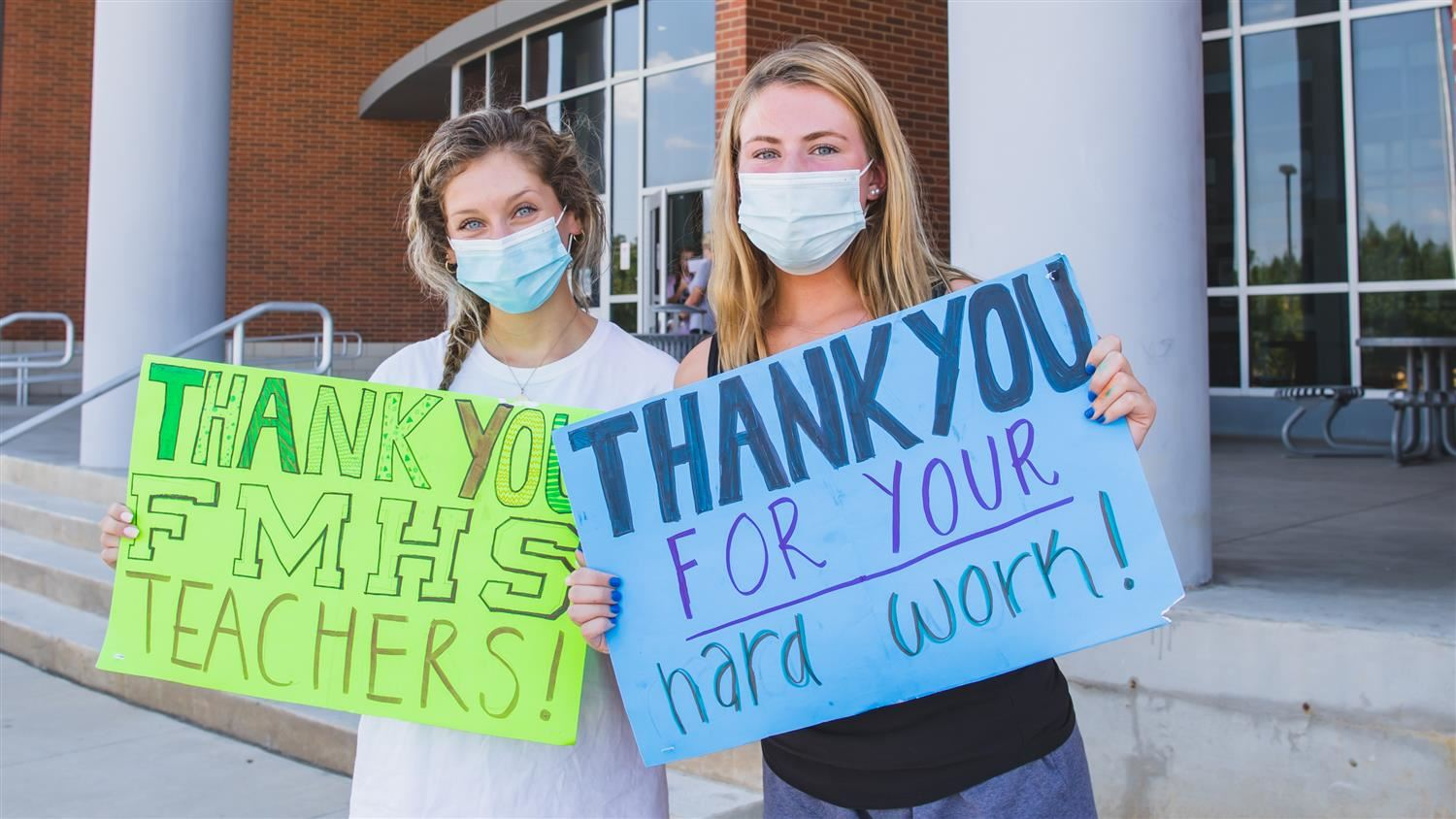 Flower Mound High School Students and Families Show Appreciation for Teachers