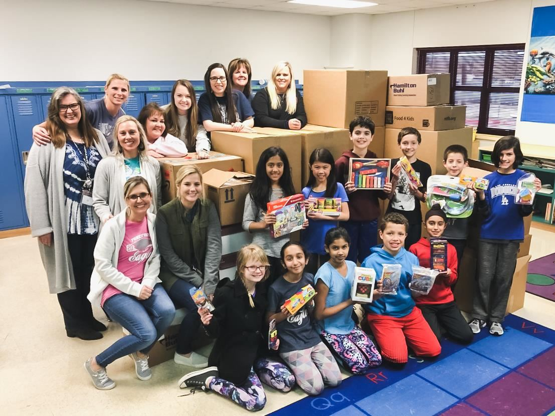FVE Donates Toys to Children's Medical Center of Dallas