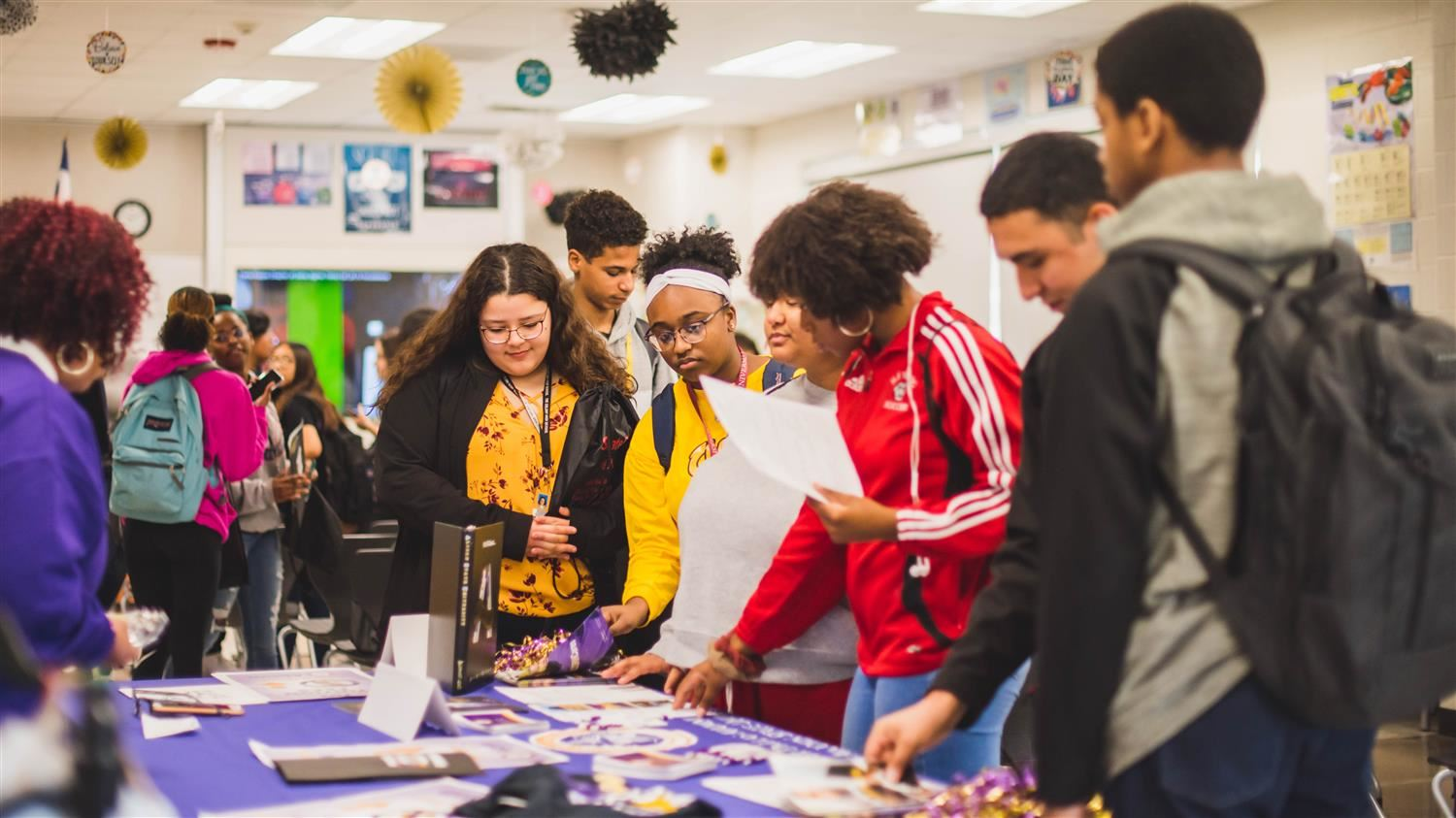 College Fair Brings HBCU Campuses to LISD Students