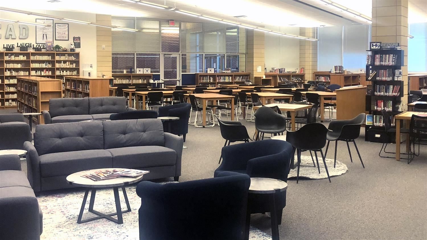 Hebron 9 Library Media Specialist Builds on Dream