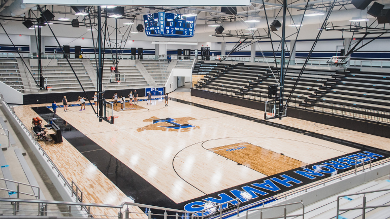 New Hebron High School Multipurpose Facility Opens for Game Day