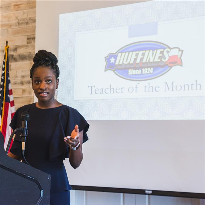 Southridge Elementary's Alexis Miller Named Lewisville Area Chamber of Commerce/Huffines Auto Dealership February Teacher of the Month