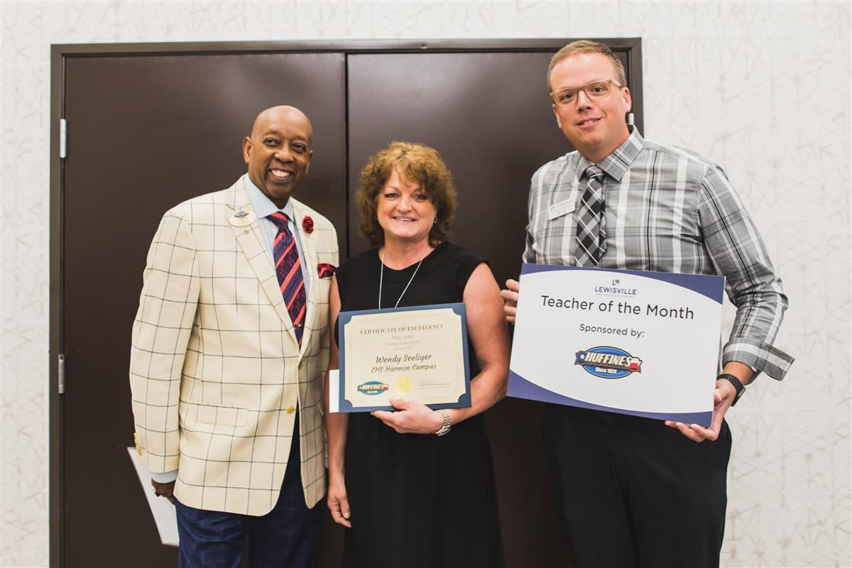 Wendy Seeliger named Lewisville Chamber May Teacher of the Month 2019