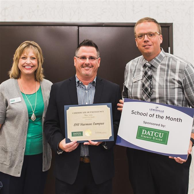 LHS Harmon Named Lewisville Area Chamber of Commerce/DATCU May School of the Month