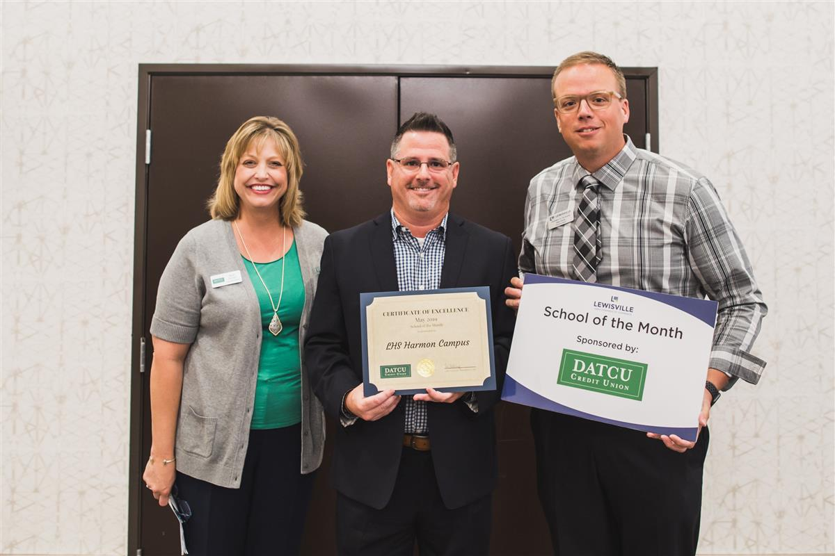 LHS Harmon Named May 2019 School of the Month by Lewisville Chamber