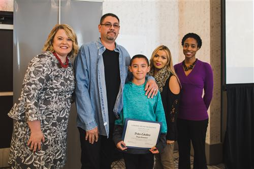 Pedro Caballero - Student of the Month Sept. 2018
