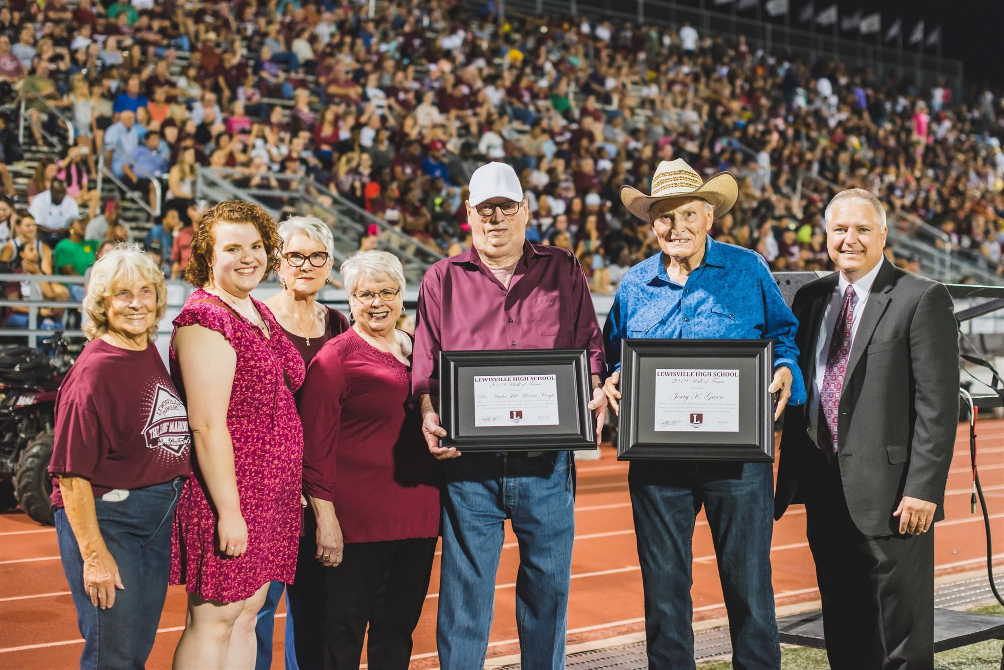 Lewisville High School Hall of Fame inductees