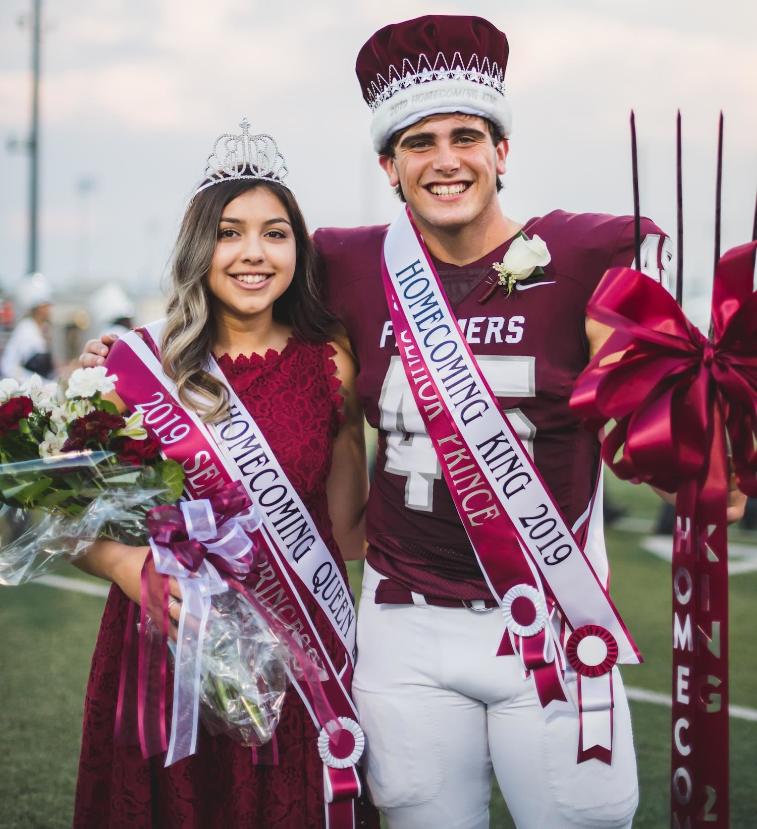 LHS Homecoming King and Queen