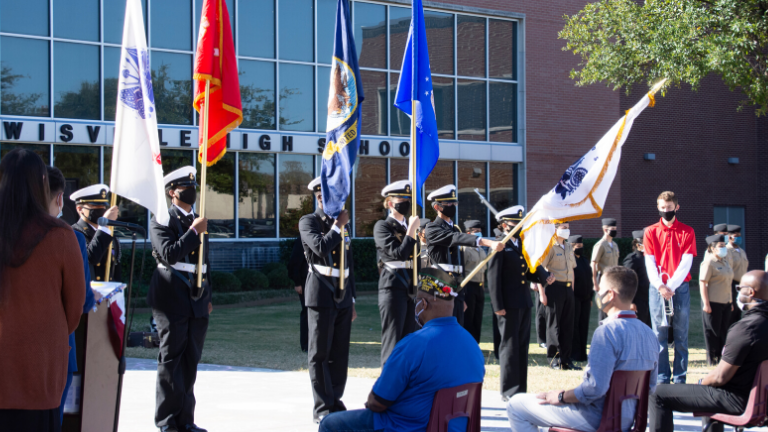 Lewisville High School Hosts Annual Veterans Day Ceremony
