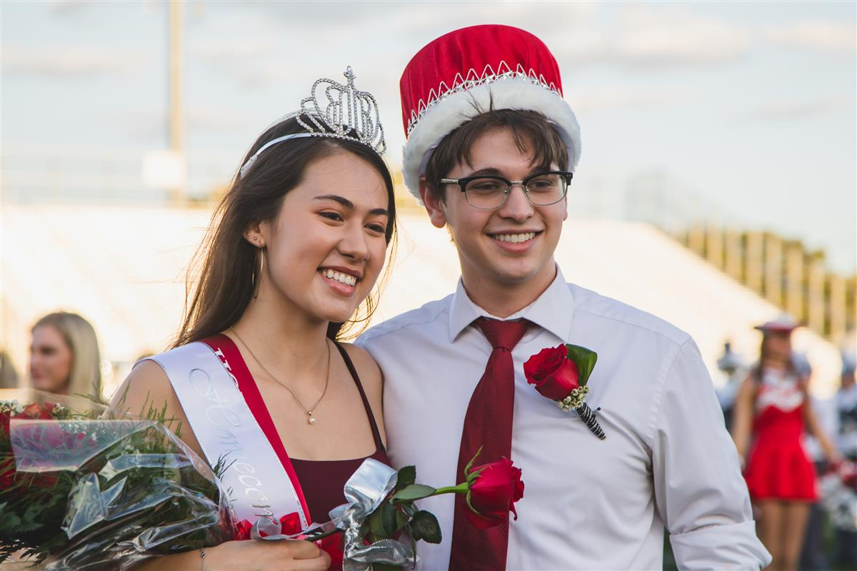 2019 Homecoming Queen & King