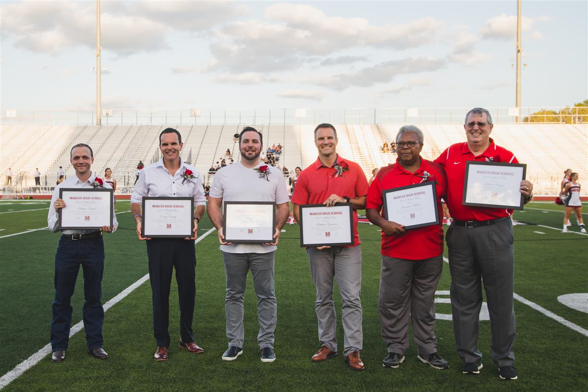2019 Marcus HS Hall of Fame