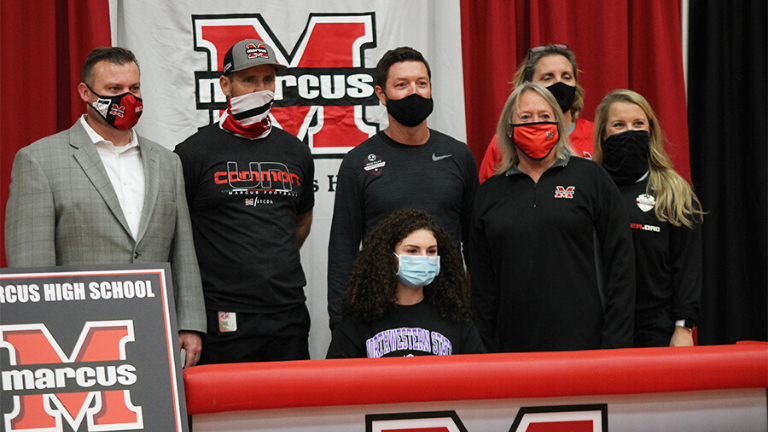 Marcus Athletes: National Signing Day