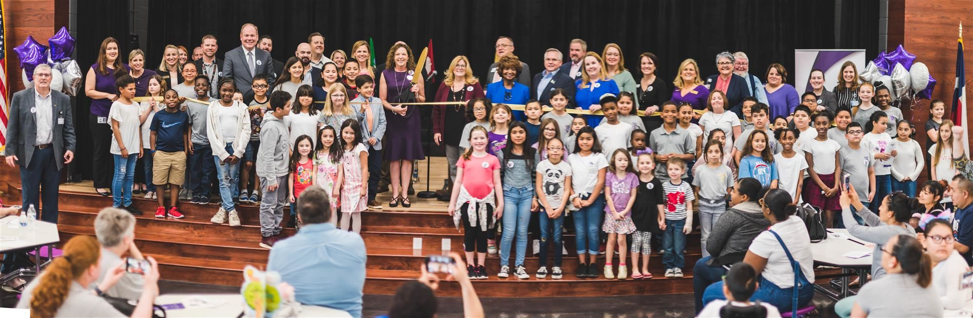 Mill Street Elementary Ribbon Cutting Ceremony 2020