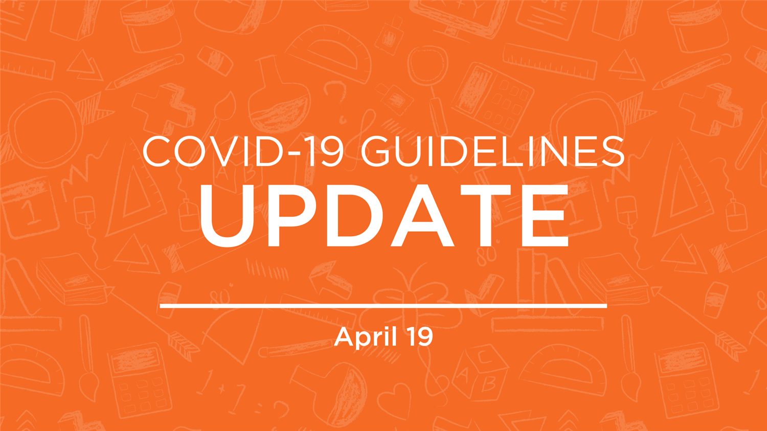COVID-19 Operational Guidelines Update
