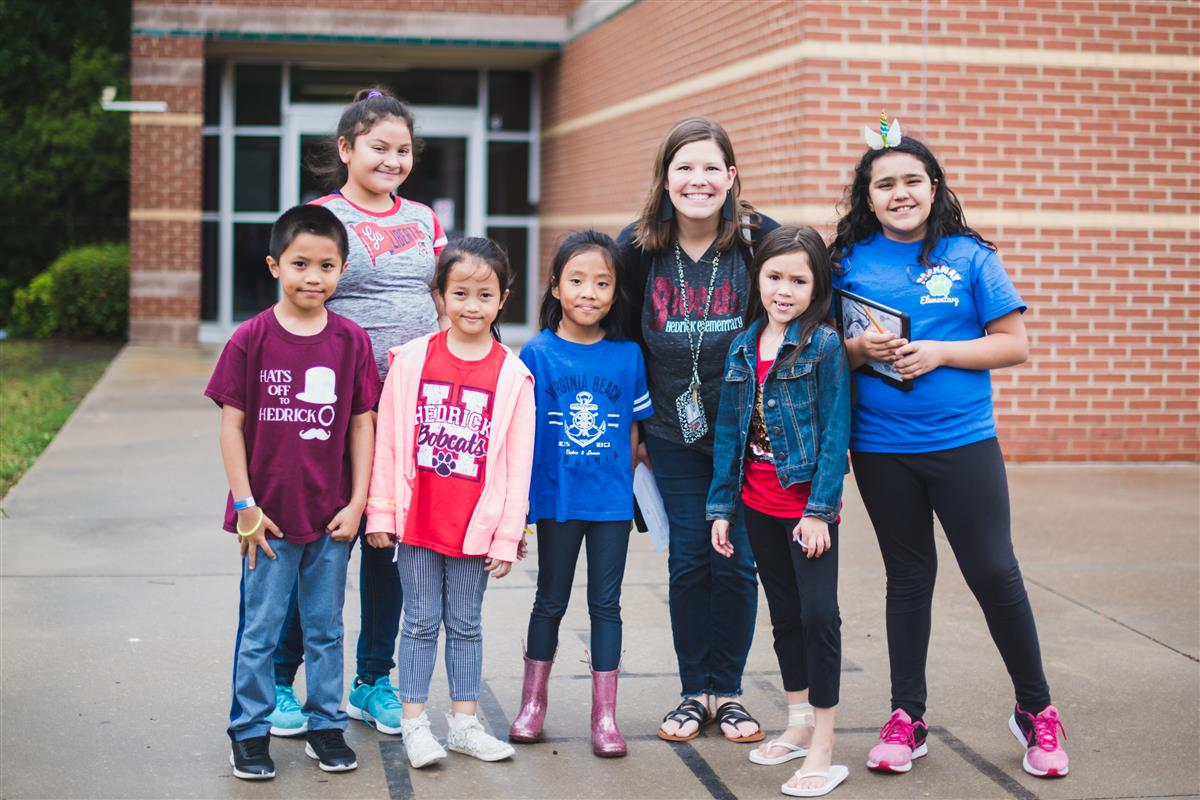 Parkway students welcome Hedrick students
