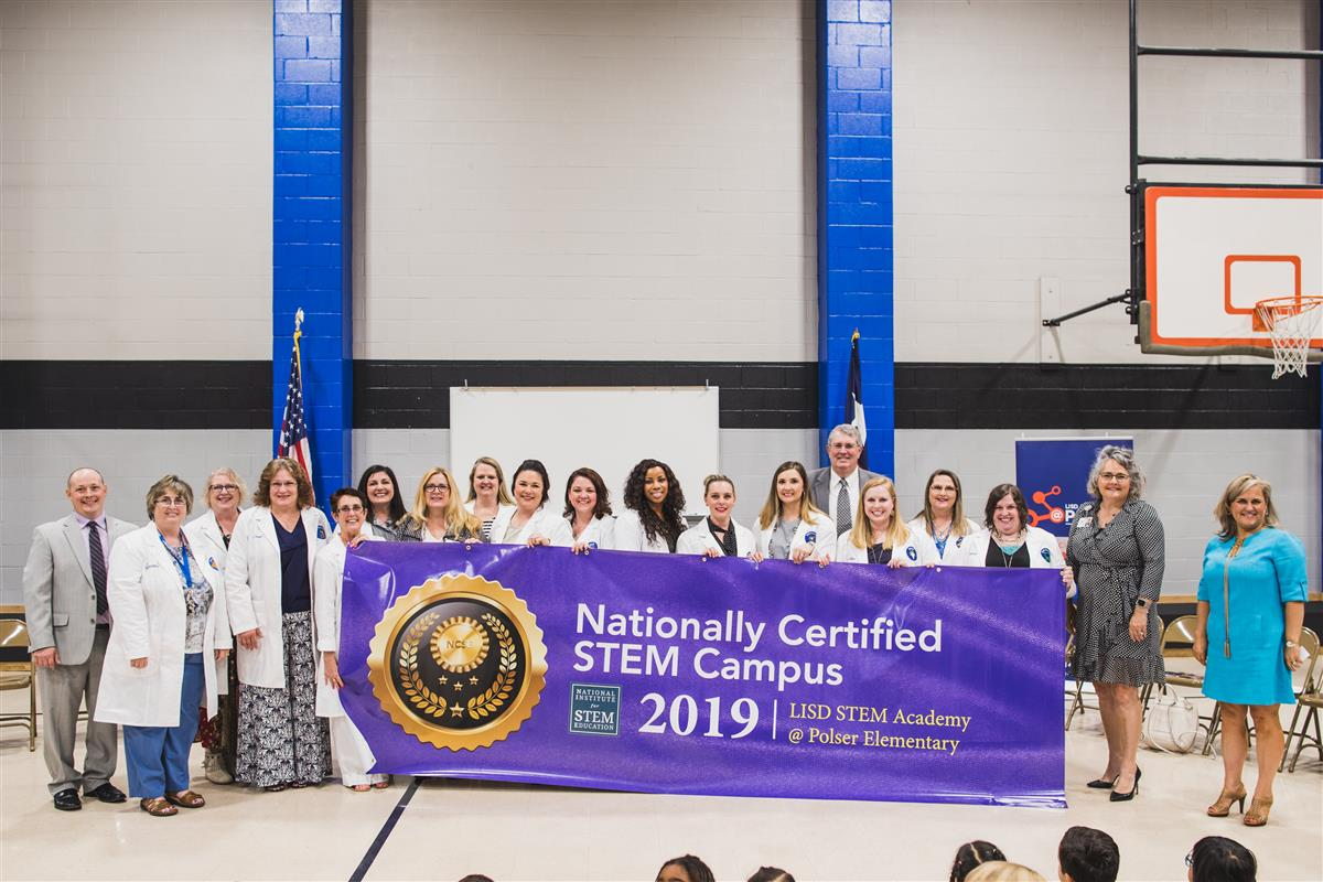 Polser Named Nationally Certified STEM Campus