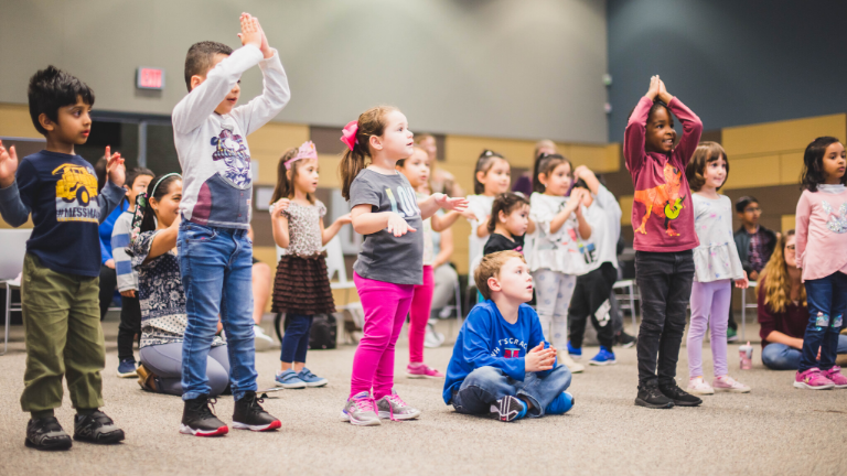 Music and Movement in Pre-K