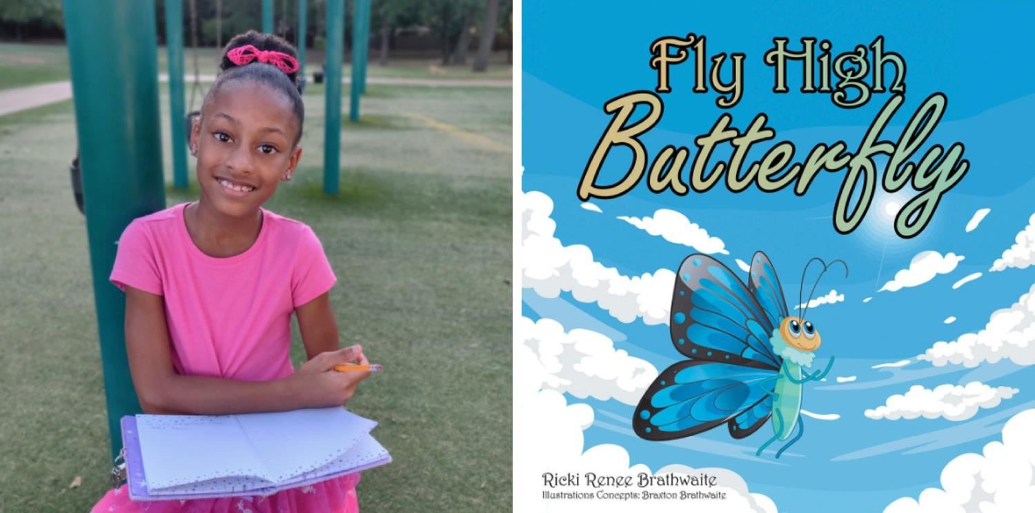 Ricki is a young author and a fourth grader at Parkway Elementary.