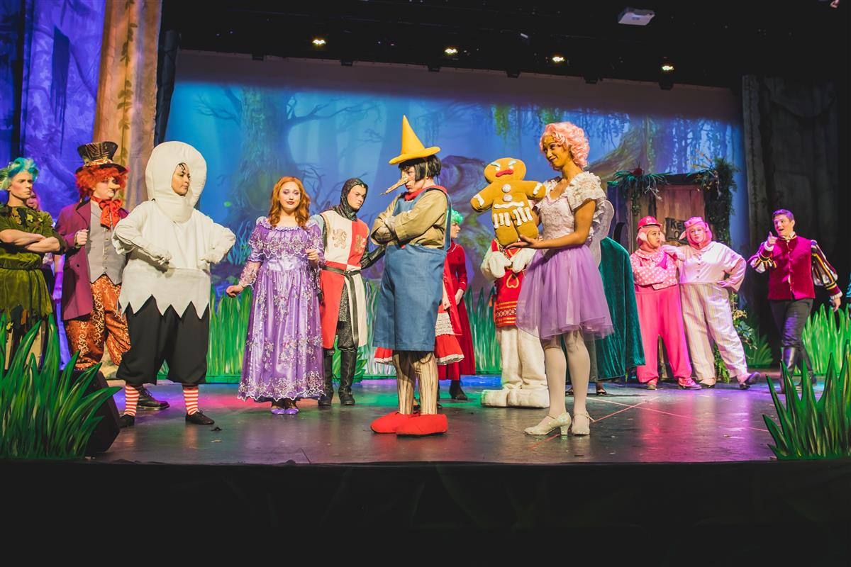 Theatre at The Colony Presents Shrek: The Musical.