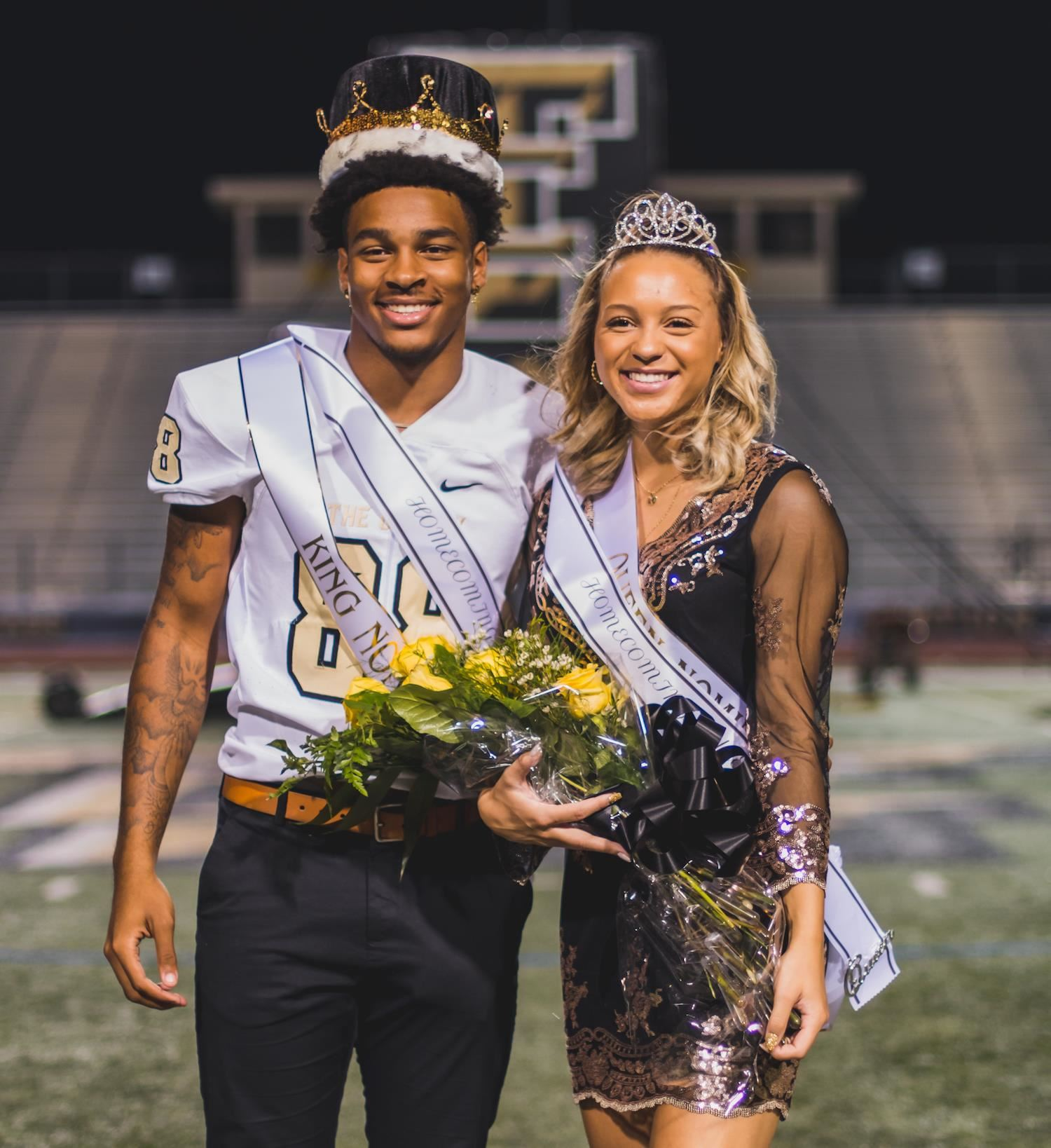 TCHS Homecoming king and queen