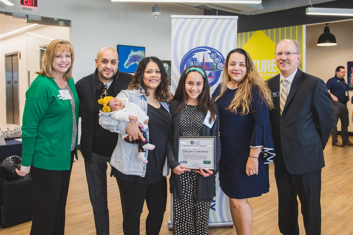 Leilani Cortinas named Student of the Month by The Colony Chamber of Commerce
