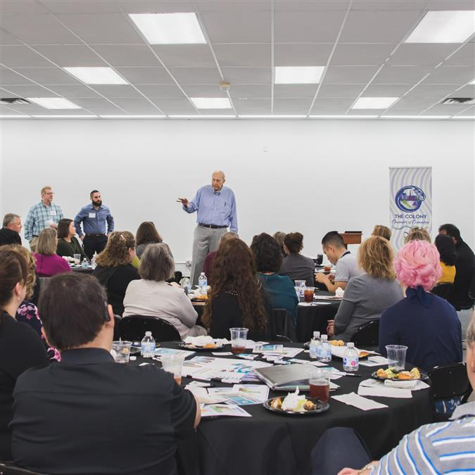 The Colony High School and The Colony Chamber of Commerce Team Up for Special Luncheon