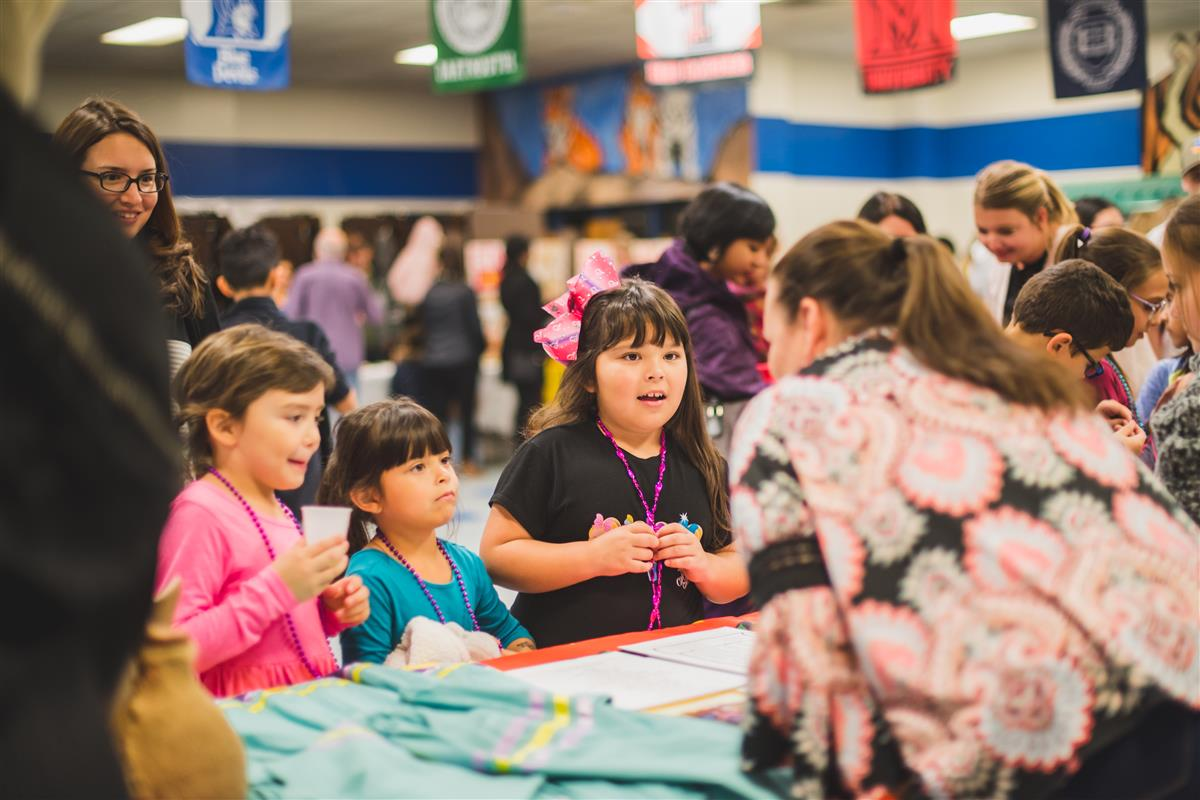 Families attend Multicultural Night at Timber Creek Elementary