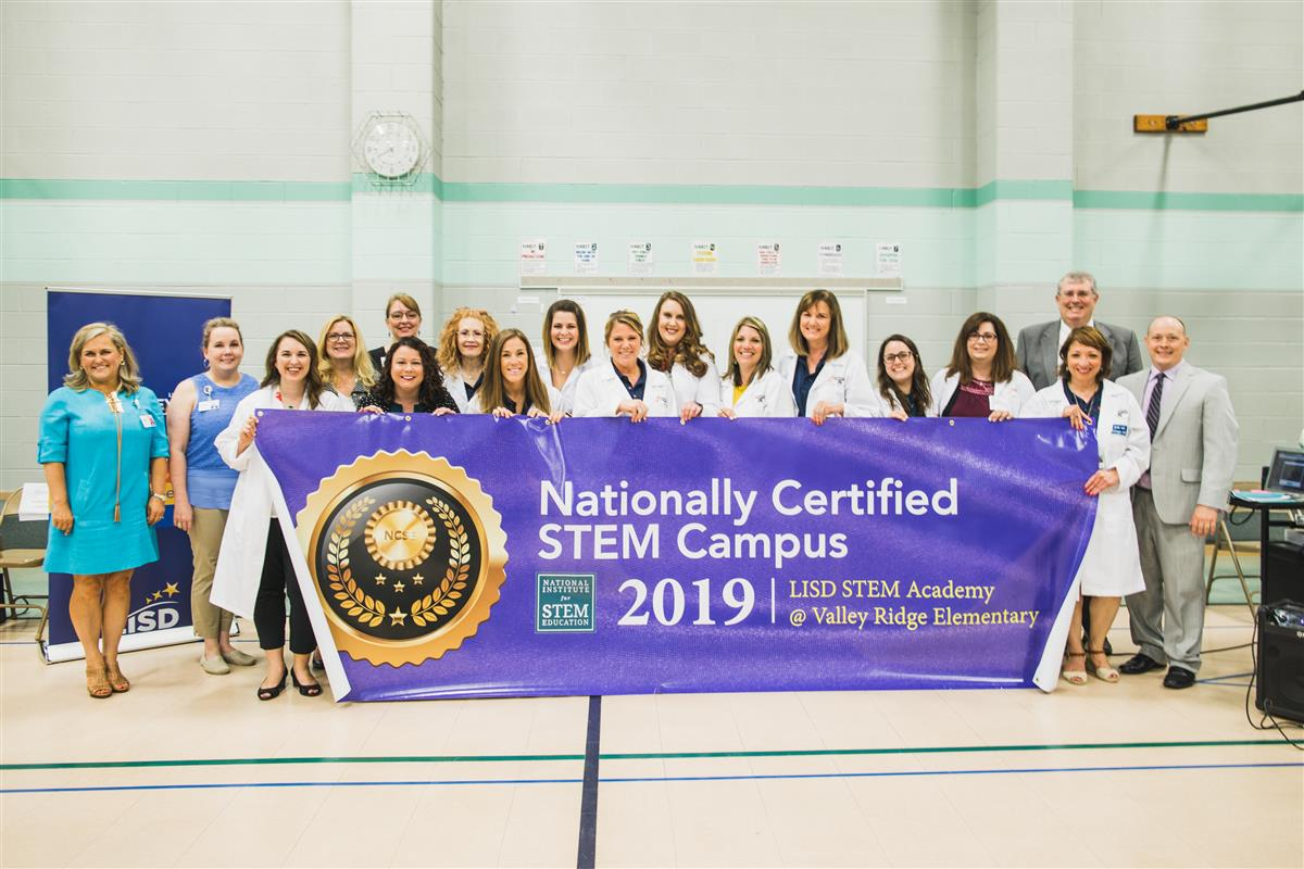 Valley Ridge Named Nationally Certified STEM Campus
