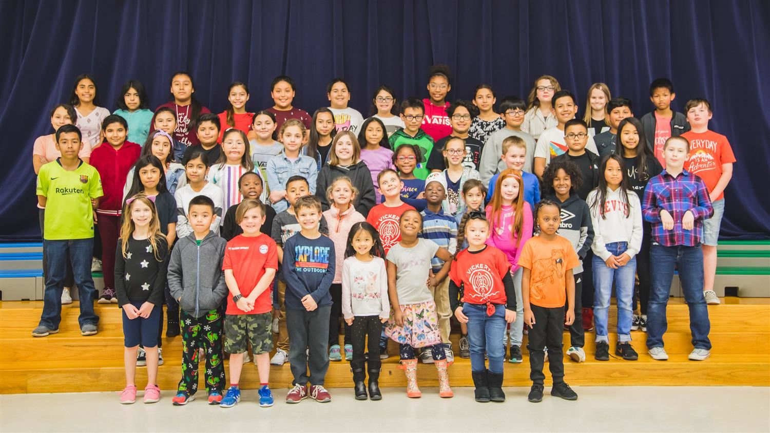 Vickery Elementary Students Support Local Organization
