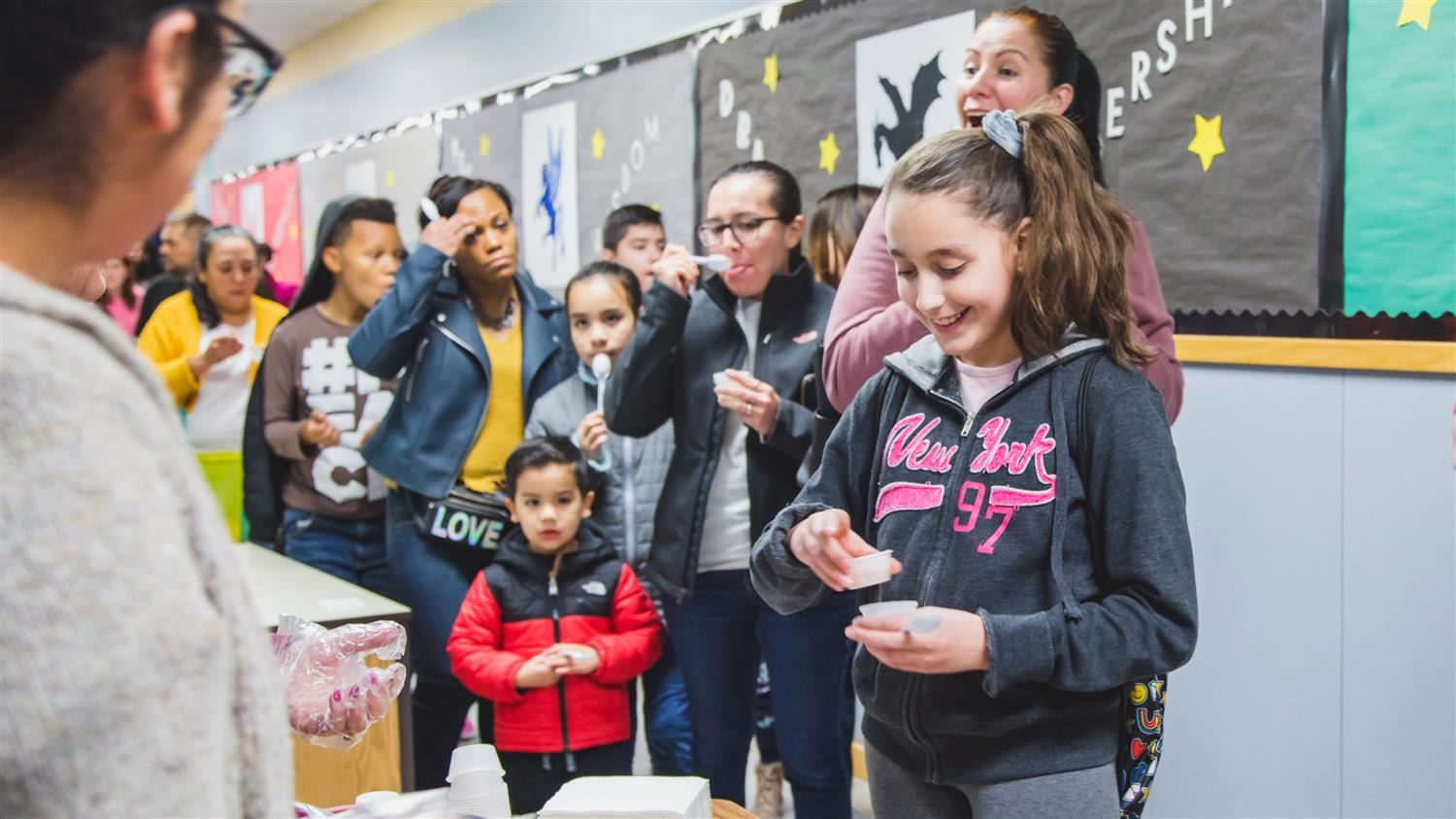 'Everybody Cooks Rice' at Vickery Elementary