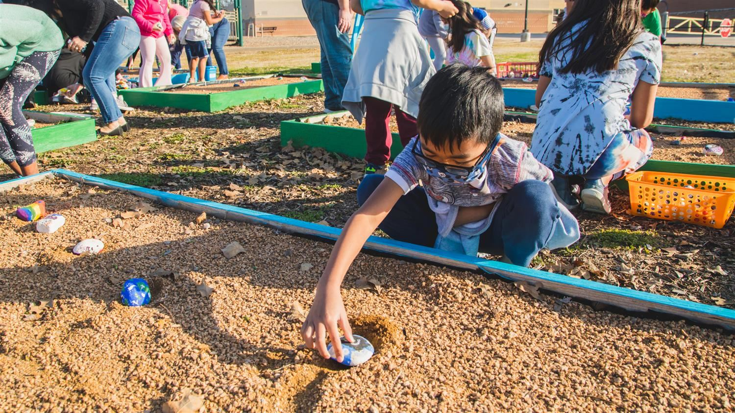 Special History Behind Vickery Elementary's New Rock Garden
