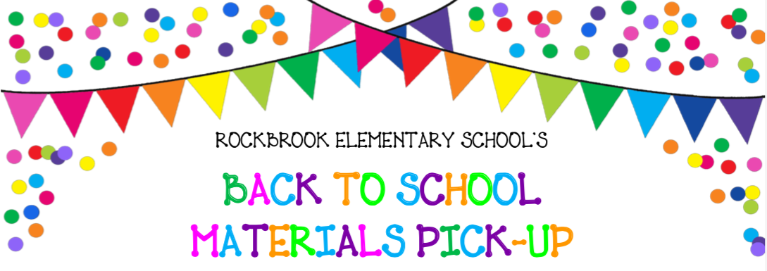 Back to School Materials Pick-up