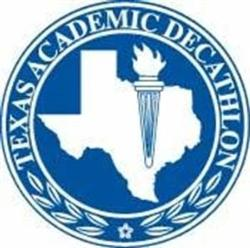 Blue ACDEC seal.  Texas with a torch.