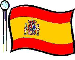 Red and yellow country flag