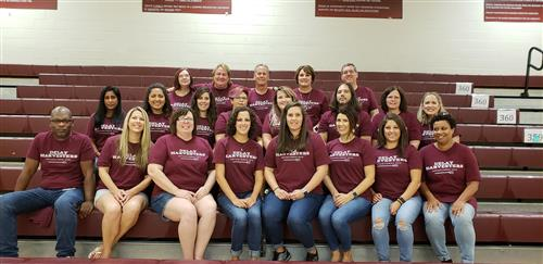 DeLay 8th Grade Staff