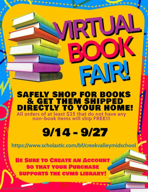 Virtual Book Fair!