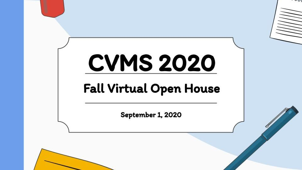 Fall Virtual Open House
