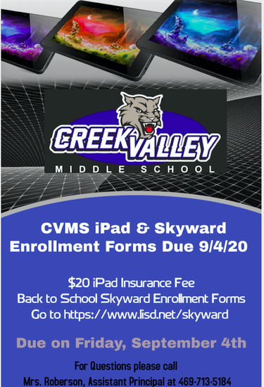 Enrollment Forms Due