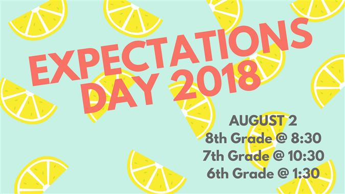 Expectations Day Info