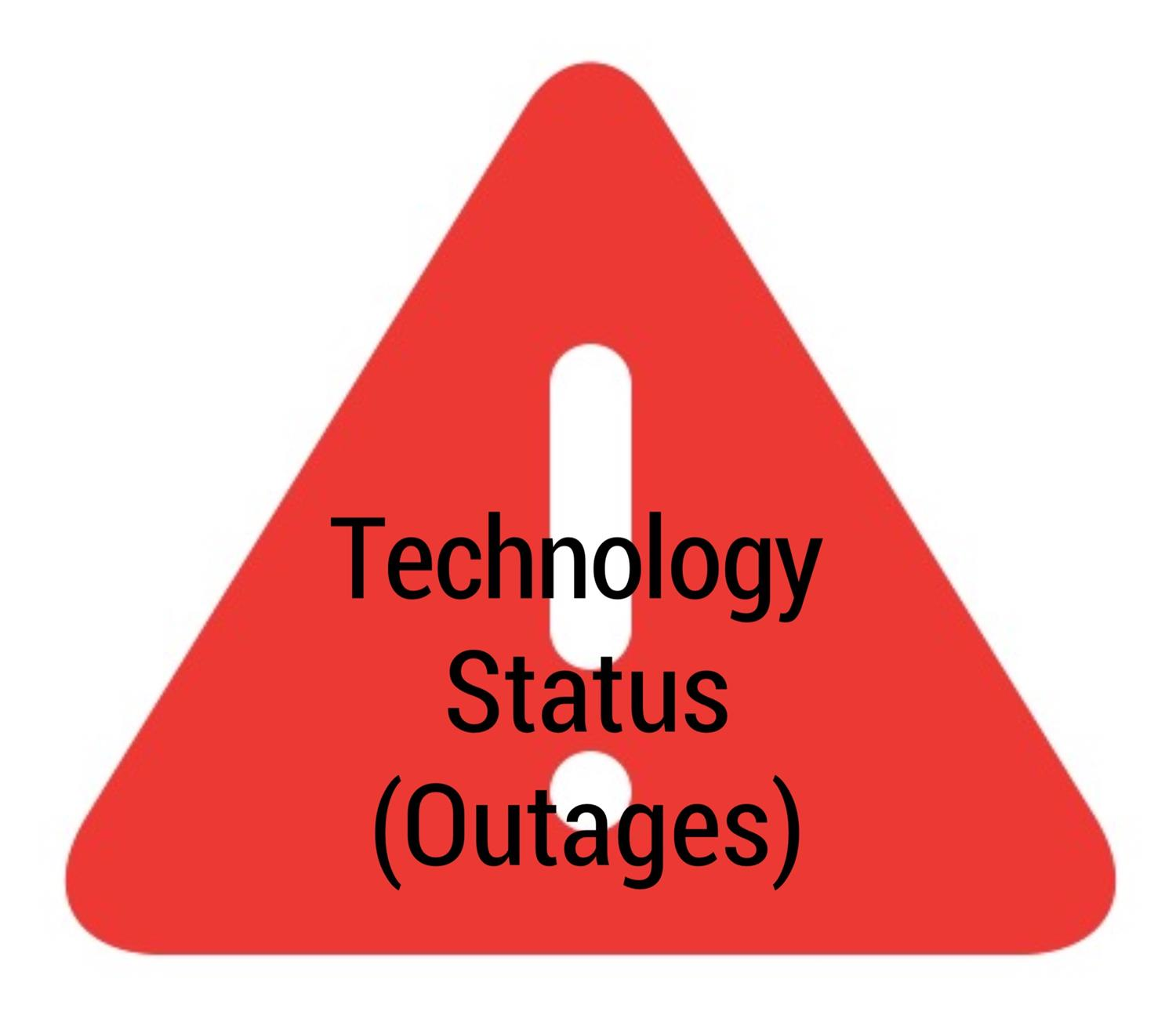 Technology Status (Outages)