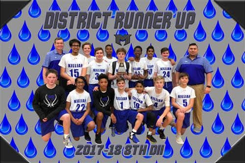 2017-18 8th D2 District Runner Up