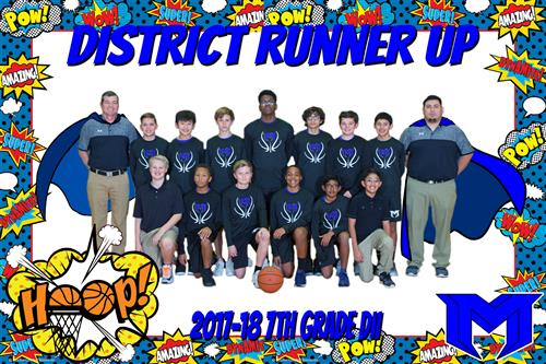 2017-18 7th D2 District Runner Up