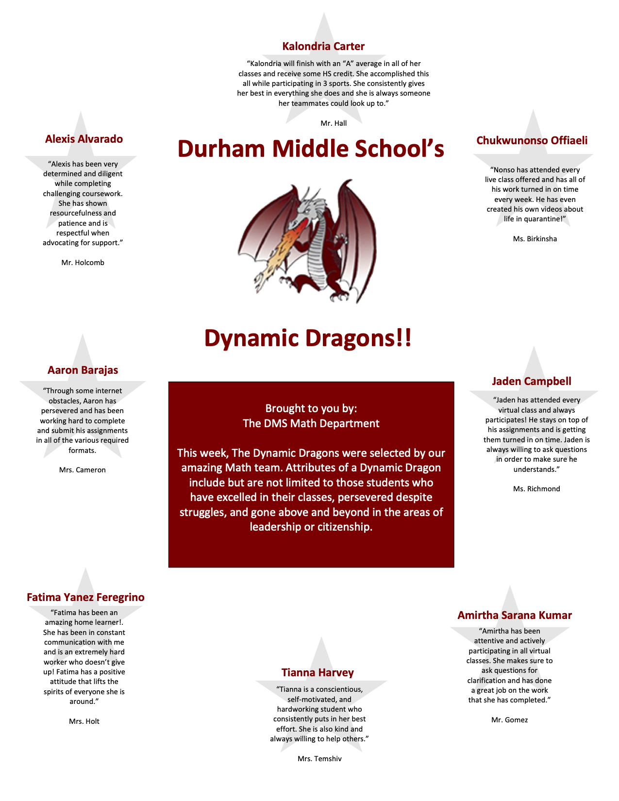 Math Dynamic Dragons